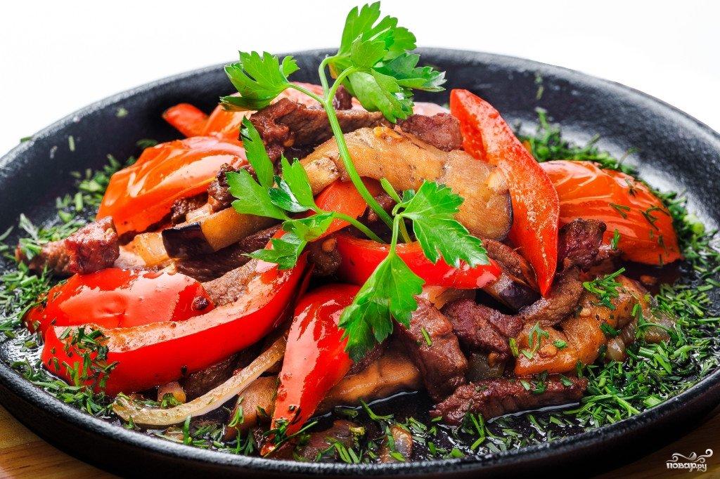 рецепты мясных блюд на сковороде с фото зимний вечер