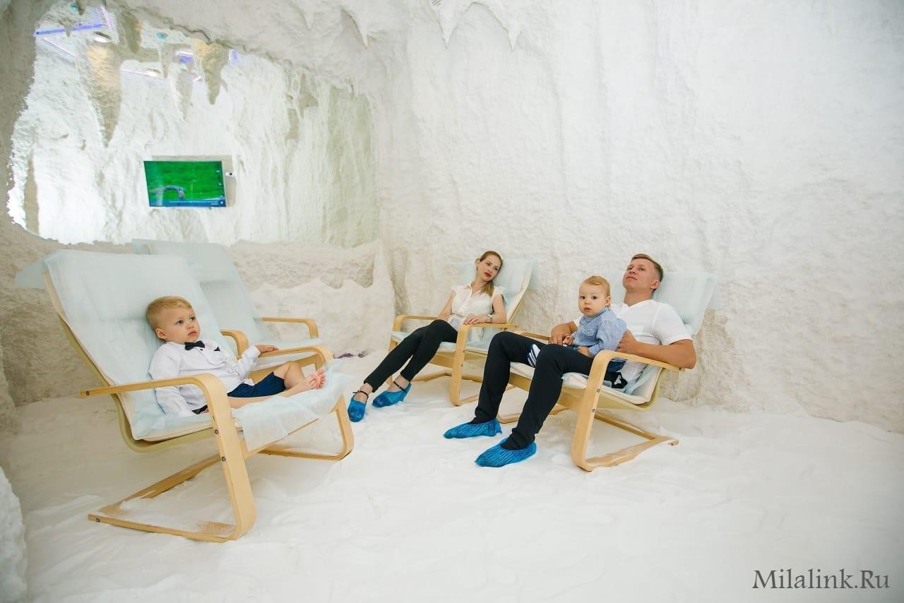 Чем полезна соляная комната для ребенка