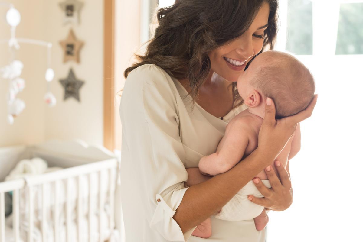 Красивые картинки мамы с новорожденным