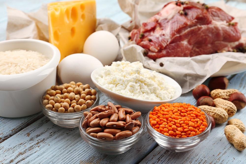 простая белковая диета для похудения меню